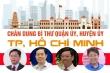 Infographic: Chân dung 12 tân Bí thư Quận ủy, Huyện ủy ở TP.HCM