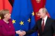 Bà Merkel đến gặp ông Putin trước khi rời nhiệm sở