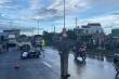 Cán 2 người thương vong, tài xế container lái xe bỏ chạy