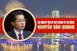 Infographic: Sự nghiệp tân Bí thư Thành ủy Đà Nẵng Nguyễn Văn Quảng