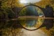 Khám phá bí mật 'Cây cầu của quỷ' nằm giữa rừng cây, tự đổi màu qua các mùa