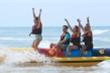 Khai trương dịch vụ thể thao dưới nước đầu tiên tại bãi biển Thuận An - Huế