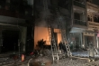 5 người mắc kẹt trong đám cháy cửa hàng gas ở Hà Nội