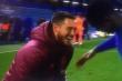 Video: Hazard tươi cười rạng rỡ dù Real Madrid thua đau Chelsea