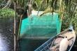 Sông Cái Lớn ở Hậu Giang bốc mùi hôi thối, nước đen ngòm