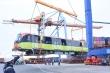 Những hình ảnh đầu tiên của đoàn tàu metro Nhổn - ga Hà Nội tại cảng Hải Phòng