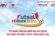 Lịch thi đấu Futsal HDBank VĐQG 2021