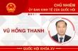 Infographic: Sự nghiệp Chủ nhiệm Ủy ban kinh tế của Quốc hội Vũ Hồng Thanh
