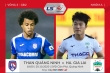 Trực tiếp Than Quảng Ninh 3-1 HAGL: Văn Thanh kiến tạo