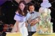 'Triệu Mẫn' An Dĩ Hiên và chồng tỷ phú mở tiệc đầy tháng cho con trai