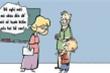 Hạnh kiểm kém cả bố lẫn con
