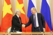 Tổng Bí thư gửi thư chúc mừng 75 năm Ngày Chiến thắng ở Nga