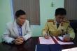 Bắt nhà báo rởm lao xe vào CSGT ở Hải Dương
