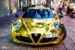 Alfa Romeo 4C Sài Gòn mạ vàng phong cách dân chơi Dubai