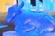 Video: Điêu khắc trâu từ băng tuyết mừng năm Tân Sửu ở Trung Quốc