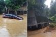 Mưa to ở Lào Cai gây ngập nặng, sạt lở hàng loạt tuyến đường