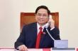 Thủ tướng Campuchia Hun Sen gọi điện chúc mừng Thủ tướng Phạm Minh Chính