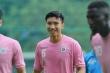 Văn Hậu tươi rói trở lại sân tập Hà Nội FC sau thời gian cách ly
