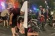 Người mang bầu 8 tháng bị nam thanh niên phóng xe máy tông trúng trên phố Hà Nội