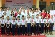 Agribank Bến Tre trao tặng tủ sách, thiết bị học tập tại Trường THCS Hưng Lễ