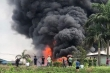 Hỏa hoạn tại kho hàng Long Biên: Hóa chất bị cháy rất độc hại, dễ bay hơi