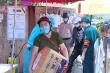 Video: Hà Nội lập chốt tiếp tế lương thực cho người dân trong khu cách ly