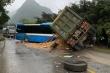 Xe khách đấu đầu xe tải ở Hòa Bình, 3 người chết