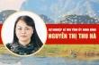 Infographic: Sự nghiệp Bí thư Tỉnh ủy Ninh Bình Nguyễn Thị Thu Hà