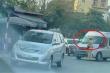 Danh tính tài xế ô tô 16 chỗ nhấn ga đẩy CSGT đi lùi trên phố Hà Nội