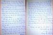 Rơi nước mắt lá thư viết tay cô bé lớp 3 gửi cha nơi tuyến đầu chống dịch