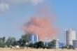 Nhà máy thép Hòa Phát Dung Quất phun khói đỏ, người dân lo lắng