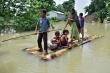 Lũ lụt hoành hành ở Ấn Độ, 13 người thiệt mạng