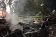 Nghi vấn tài xế xe đầu kéo chết cháy trong cabin sau tai nạn trên quốc lộ 5