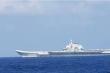 Tàu chiến Mỹ 'bám theo' tàu sân bay Trung Quốc trên Biển Đông