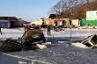 Video: Băng tan 'nuốt chửng' hàng chục ô tô tại Nga