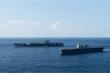 Báo Nhật Bản: Tàu sân bay Mỹ USS Ronald Reagan xuất hiện ở Biển Đông