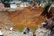 'Hố tử thần' ở Lai Châu khiến 3 hộ dân phải di dời