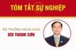 Infographic: Sự nghiệp Bộ trưởng Ngoại giao Bùi Thanh Sơn