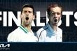 Chung kết đơn nam Australian Open: Medvedev lật đổ 'đế chế' Djokovic?