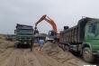 Bãi tập kết vật liệu xây dựng không phép hoạt động rầm rộ: Thanh tra giao thông Bắc Ninh than quân số mỏng