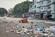 Dân Myanmar xả rác ra đường để biểu tình