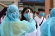 Kiểm tra y tế nghiêm ngặt gần 900.000 thí sinh vào làm thủ tục thi THPT