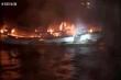 Hai lao động Hà Tĩnh mất tích trong vụ cháy tàu cá ở Hàn Quốc