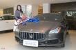 Á hậu Thúy Vân mua Maserati Quattroporte giá gần 8 tỷ đồng