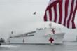 Siêu tàu bệnh viện Hải quân Mỹ USNS Comfort rời New York