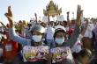 Người biểu tình Myanmar tiếp tục đổ ra đường bất chấp bị trấn áp