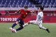 Tây Ban Nha loại Argentina từ vòng bảng bóng đá nam Olympic Tokyo