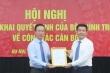Trao quyết định bổ nhiệm Phó Trưởng ban Tuyên giáo Trung ương Nguyễn Hồng Diên
