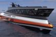 Cận cảnh siêu du thuyền 'cá mập' giá 550 triệu USD