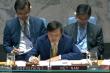 Việt Nam chủ trì cuộc họp Hội đồng Bảo an về tình hình Yemen, Colombia